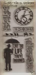 TIM HOLTZ - Visual Artistry Collection Clear Stamps - Life's Possibilities ()