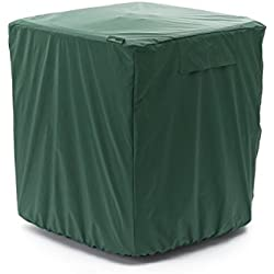 CoverMates - Air Conditioner Cover - Fits 36 Width x 36 Depth x 32 Height - Classic - 12-Gauge Vinyl - Mesh Vent for Airflow - Elastic Bottom for Secure Fit - 2 YR Warranty - Water Resistant - Green