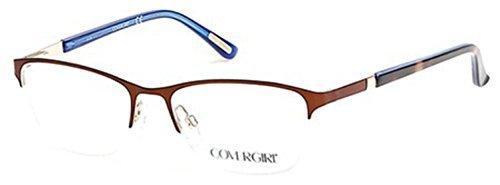 Cover Girl Eyeglasses CG0533 046 Matte Light Brown 52MM