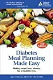 Diabetes Meal Planning, Hope S. Warshaw, 1580402518