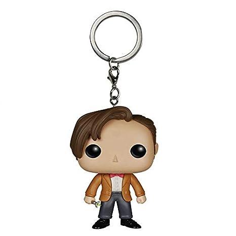 Amazon.com: Doctor Who llavero llavero Tardis Anillos Décimo ...