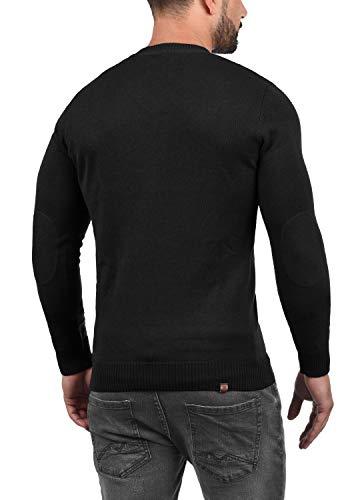 Black Pullover Da A Con Maglieria 70155 Maglione Uomo Collo V Lasse Blend qnERvv