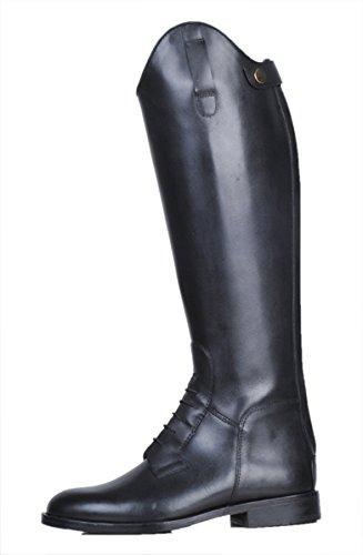 HKM Herren Reitstiefel Spain Softleder Kurz/Standardweite schwarz