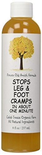 Caleb Treeze Organic Farm Stops Leg and Foot Cramps - 8 oz (Pack of 3) by Caleb Treeze Organic Farms