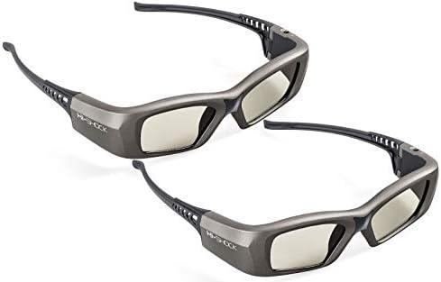 2X Hi-SHOCK Oxid Diamond   Dual Play RF/BT Pro 3D Glasses for HDR/FullHD / 4k 3DTV RF 3D projectors comp.SSG-3570CR / TDG-BT500A / AN3DG35 / TY-ER3D6ME / FPT-AG04 / AG-S350 / FPS3D08