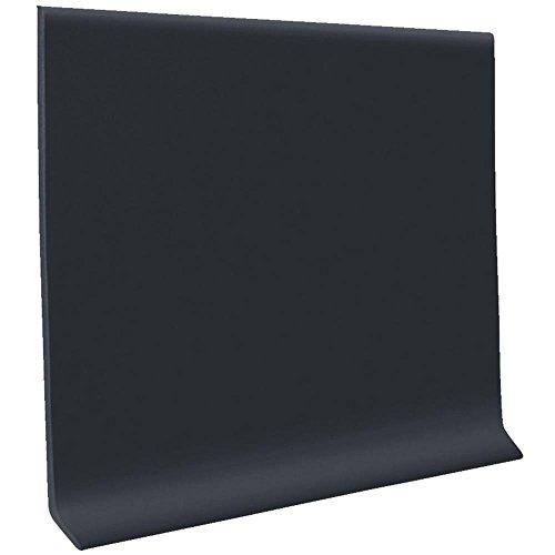 (HC40C51S100 Self-Stick Vinyl Wall Base, Black)