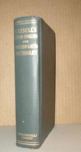 CASSELL'S LATIN DICTIONARY Latin-English and English Latin