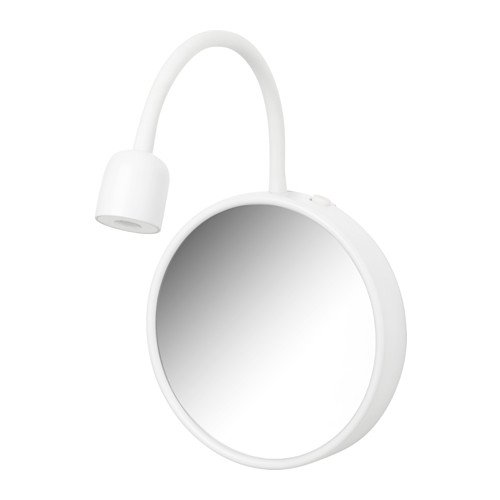 Ikea Blavik Led Wall Lamp With Mirror Battery Operated