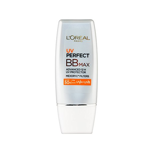 L'OREAL PARIS UV PERFECT BB MAX SPF50+/PA+++ 30 ml. (Hydro Mineral Natural Finish Makeup)