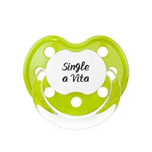 Single a vita - + 6 M - Chupete anatómico de silicona con ...