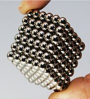 Magnetic Balls/Beads For Intelligence Development, Creativity and Stress Relief, Set of 216, 5mm Highly Magnetic Beads