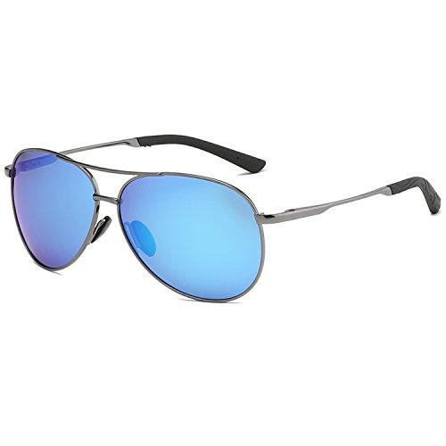 Polarized Sunglasses Aviator Sunglasses for Men - FEIDU Polarized Aviator Sunglasses for Men Sunglasses Man FD9002 ()