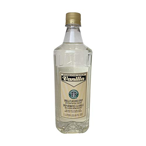 Starbucks Vanilla Syrup (1-L.)