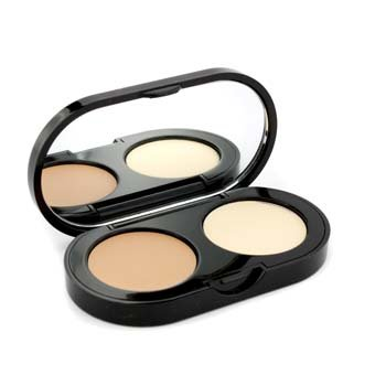 New Creamy Concealer Kit - Warm Beige Creamy Concealer + Pale Yellow Sheer Finish Pressed Powder 3.1g/1.1oz