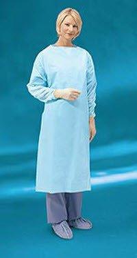 Cardinal Health 5210PG Gown Plastic Film Impervious SZ Universal 75/Ca