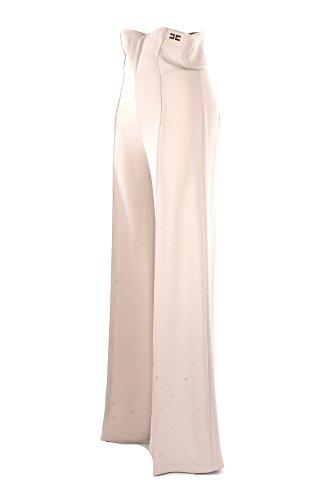 Pantalone Donna Elisabetta Franchi Essential 46 Vaniglia Pa12381e2 Primavera Estate 2018