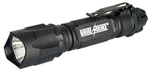 (Brite Strike BD-198-HLS-2C Tactical Blue Dot Series 310-Lumen Hi Lo Strobe 2-Cell LED Flashlight)