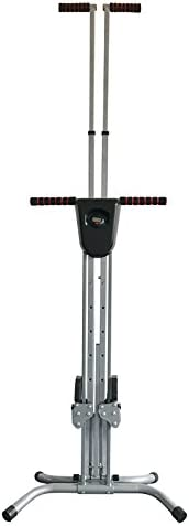 Vertical Climber Machine Step Fitness Exercise Adjustable Stair Climbing Folding Stepper for Home Gym Exercise