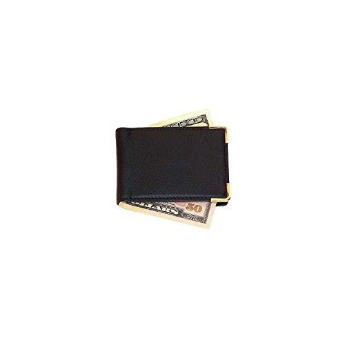 Royce Leather Large Magnetic Money Clip (811-BLACK-5)