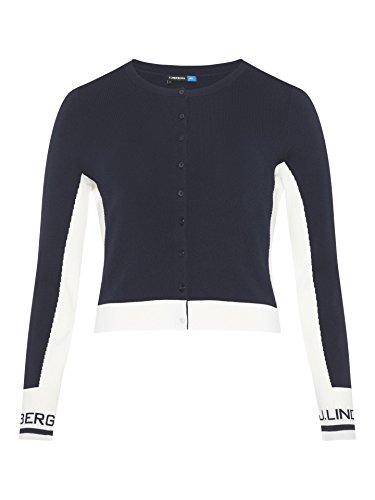 J.Lindeberg Melody Viscose Nylon Golf Sweater 2018 Women Black Small