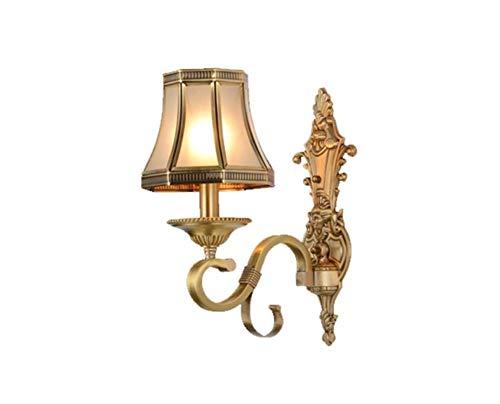Tischlampe Amerikanische Nacht aus reinem reinem reinem Kupfer Wandlampe Jane Parliament TV Wandlampe zurück fallen B07PLVLTC2 | Qualitätskönigin  57264a