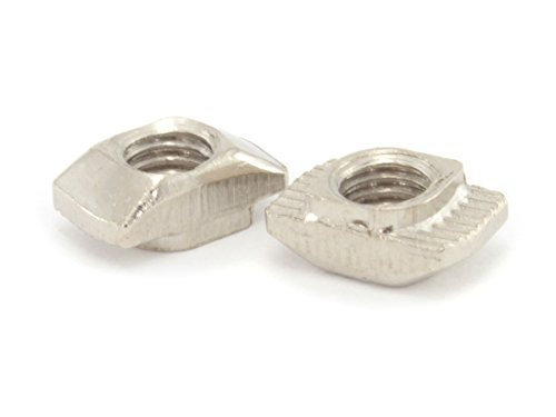 (Hammer Drop-In M5 T Nut for 20mm T-Slot/V-Slot Aluminum Extrusions (Pack of 100))