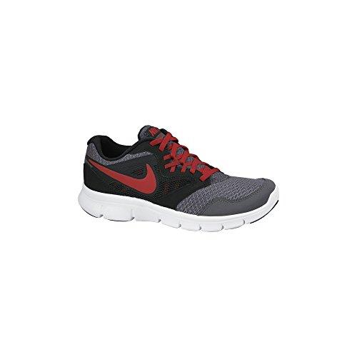 Boy'S Nike Flex Experience 3 Running Shoes Gs Darkgrey/Black/White/Gym Red
