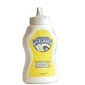 Boy Butter Lubricant - 9 oz Squeeze (Package of 3)