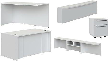 Blanco Cocoarm Estante de Almacenamiento de Escritorio Gabinete multifunci/ón Estanter/ía para el hogar y la estanter/ía de Escritorio de Oficina