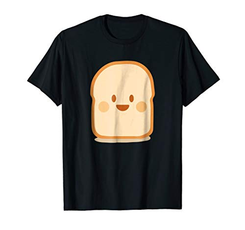 Bread & Toast T-Shirt Funny Halloween Costume Catoon -
