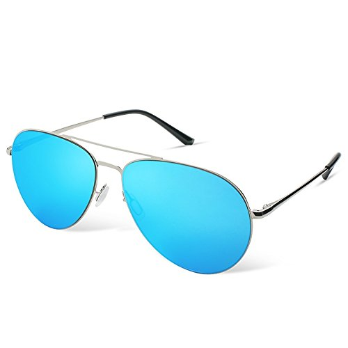 TL de gafas guiar Blue Non aviador los de hombres sol gafas a hombres azul Gafas Sunglasses Polarizzato para piloto rwZRCqrp
