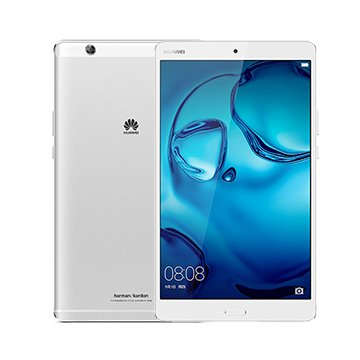Huawei MediaPad M3 (BTV-DL09A) 8.4-Inch 4GB RAM / 32GB ROM 8MP 4G LTE FACTORY UNLOCKED Tablet PC - International Stock No Warranty (SILVER)