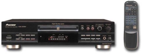 Pioneer Recorder Cd (Pioneer PDR-555RW CD Recorder CD-R/CD-RW/1BIT)