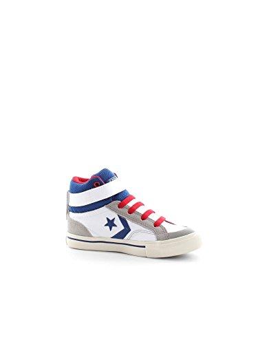 Inverse - Converse Chaussures De Sport Pro Flamme Blanche Peau Salut Bébé - Blanco, 36