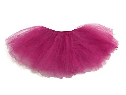 Rush Dance Dog's Dress Up Ballerina Tutu Princess Skirt Pet Costume (Hot Pink, Small to Medium)