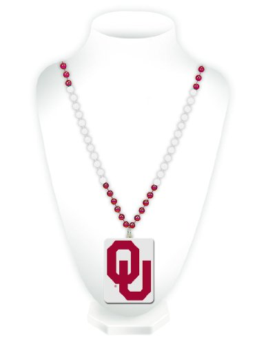 NCAA Oklahoma Sooners Beads with Logo - Sooners Mall