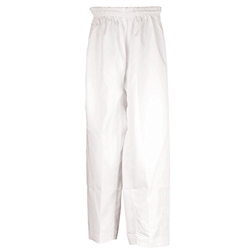 Martial Arts Pants Poly/Cotton (White, 00)