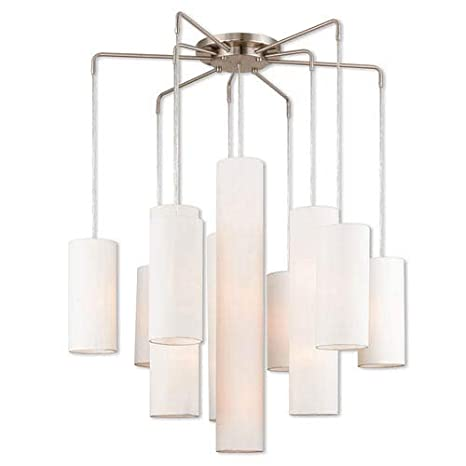 Amazon.com: livex lighting 42658 Strathmore 15 luz 44 – 1/2 ...