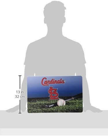 GameWear St Large Louis Cardinals Baseball Pet Bowl Mat