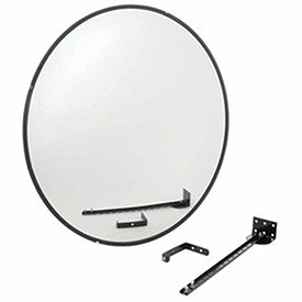 Relius Solutions Convex Safety Mirrors - Glass - 36'' Dia. - Indoor