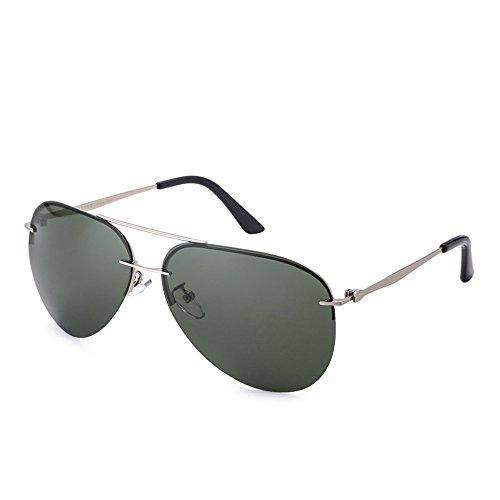 De Gafas Espejo De De Sol De De Sol Sol Que Gafas Polarizadas Gafas Aluminio Conducen Marco Hombres De del La Las Clásico Sin Los Especiales Aleación Cráneo twtqxfrA
