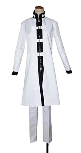 Dreamcosplay Anime Fairy Tail Jellal Fernandes White Battle Suit Cosplay Costume