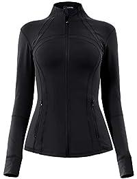 QUEENIEKE Women's Sports Define Jacket Slim Fit and Cottony-Soft Handfeel