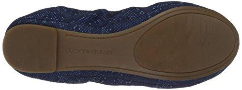 Ballerina Brand blue Women's Lucky Emmie rimini moroccan Flat RtqY6OP