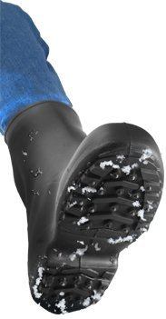 WINTER-TUFF 1450.XL 10'' Cleated/Studded Outsole Boot, X-Large, Black