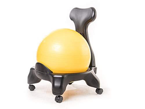 Kikka Active Chair - Silla ergonomica con pelota de ejercicio