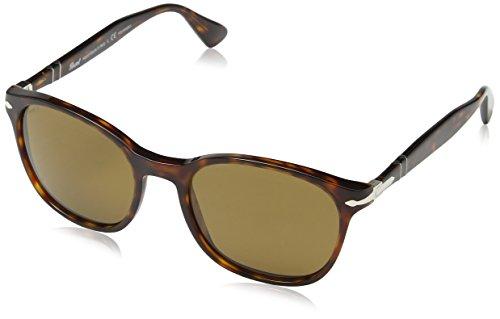 57 Havana de Gestell Multicolor Polarisiert 24 Gläser Persol Adulto Gafas Sol Braun Unisex g7q0AgUaw