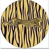 Lannmart Africa Wild Animal Giraffe/Tiger/eopard Stripe Printing Wall Hanging Plate Home Furnishing Decorative Ceramic Craft Plates