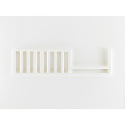 Bonavita 4100 Series Lifestyle Guard Rail, Classic White by Bonavita