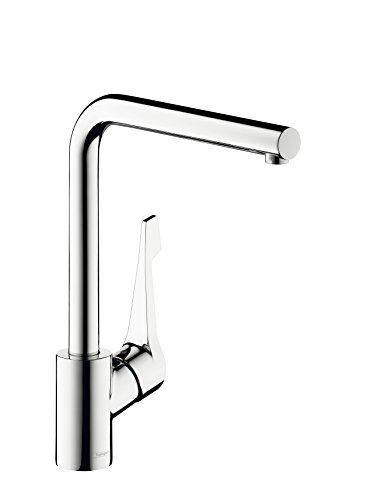 Hansgrohe Cento L Kitchen Mixer Tap with High Swivel Spout Chrome